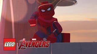 Download LEGO Marvel's Avengers - Spider Man (Civil War) Free Roam Video