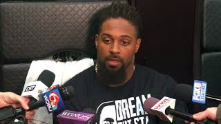 Download Cam Jordan talks about facing the Jets Video