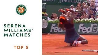 Download Top 5 Serena Williams' Matches - Roland-Garros Video