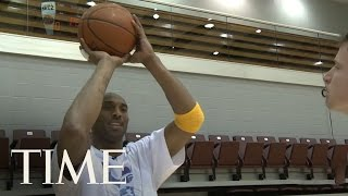 Download Los Angeles Lakers: Kobe Bryant Gives A Free Lesson | TIME Video