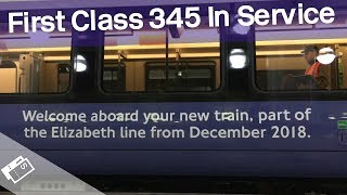 Download The First Class 345 Crossrail Train In Service! Video
