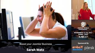 Download JWC 2017 - Boost Your Joomla! Business - Sarah Watz Video