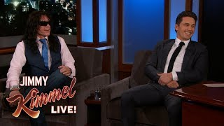 Download James Franco Brings Tommy Wiseau to Kimmel Video