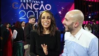 Download Entrevista a Filomena Cautela, presentadora de Eurovisión 2018 Video