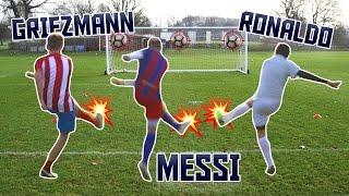 Download MESSI v RONALDO v GRIEZMANN! | Football Challenges FIFA Best Player Video