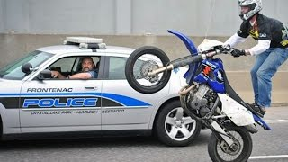 Download Motorcycle Stunters VS. Cops Compilation - FNF Video