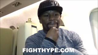 Download MAYWEATHER COMMENTS ON CANELO VS. GOLOVKIN; SAYS CANELO'S EXPLOSIVE, BUT NOT SURE IF TIME IS RIGHT Video