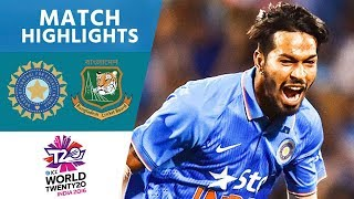 Download ICC #WT20 India vs Bangladesh - Match Highlights Video