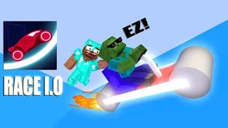Download Monster School: RACE I.O CHALLENGE - Minecraft Animation Video