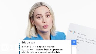 Download Brie Larson Answers the Web's Most Searched Questions | WIRED Video