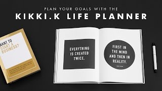 Download Plan your Goals with the kikki.K Life Planner Video