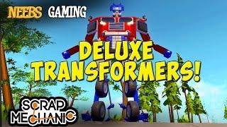 Download Scrap Mechanic - Deluxe Transformers! Video