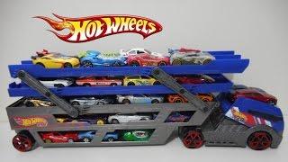 Download Caminhão Cegonha Hot wheels Truck Video