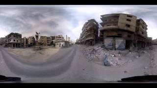 Download The Battle for Northern Syria - 360° Virtual Reality Report Video