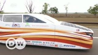 Download Solar-powered cars begin race across Australian outback | DW English Video