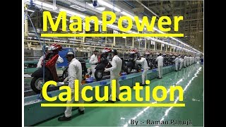 Download Manpower Calculation   Manpower Calculation by Takt time Video