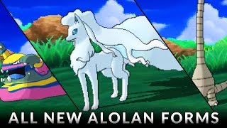 Download Pokemon Sun and Moon: All Alola Forms! Video