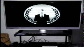 Download Anonymous Message To Sony about Taking down Playstation Network Video