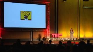 Download Look deeper - write - the wonders of writing | Nicoletta Demetriou | TEDxUniversityofNicosia Video