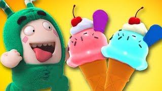 Download Oddbods Love ICE CREAM | Funny Cartoons For Kids | Oddbods Show by Oddbods & Friends Video