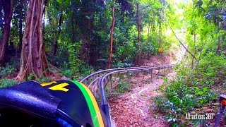 Download [HD] Jamaican High Speed Bobsled Ride through the Jungle - Mystic Mountain Jamaica Video