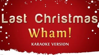 Download Wham! - Last Christmas (Pudding Mix Karaoke Version) Video