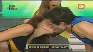 Download Esto es Guerra: Nicola Porcella y Milett Figueroa se besaron sorpresivamente - 10/09/2013 Video