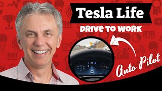 Download Nick's Tesla - My Drive to Work using Auto Pilot Video