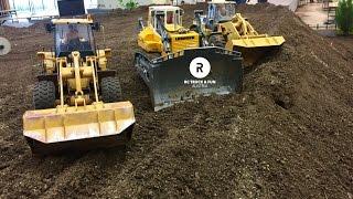 Download Construction Special !! RC Trucks, Excavator & Wheel loader Action! Wels 2017 Video