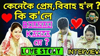 Download Love Story 💖 of Famous Assamese Singer Bornali Kalita , Interview With Bhukhan Pathak Video