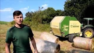 Download Farm Vlog #41 Mit John Deere 6410&Krone VarioPack 1800 auf Achse! Video