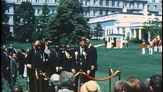Download Mwalimu Julius Kambarage Nyerere's visit to the White House (Michuzi Blog) Video