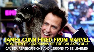 Download James Gunn Fired from Marvel By Disney over Tweets, won't direct Guardians of the Galaxy Vol. 3 Video