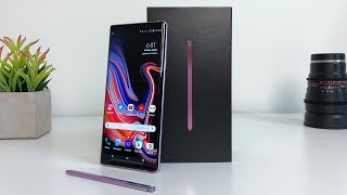 Download Samsung Galaxy Note 9 Unboxing with Camera Test Video
