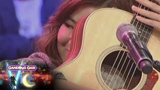 Download GGV: Moira dela Torre gets emotional while singing 'Sana Ngayong Pasko' Video