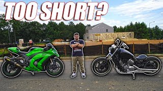 Download I'm Too Short To Ride Motorcycles Video
