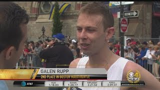 Download American Galen Rupp Takes 3rd Place In Boston Marathon Men's Division Race Video