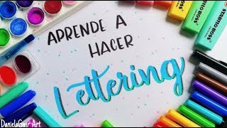 Download APRENDE A HACER LETTERING! Tutorial desde 0 - DanielaGmr ♥ Video