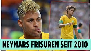 Download Neymars Frisuren! Von 2010 bis heute Video
