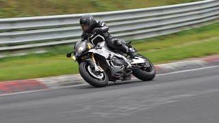 Download Nurburgring Nordschleife Fast Biker meets Very Fast Biker!! Video