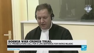 Download Bosnia war crimes trial: 'Life sentence request for Ratko Mladic not a surprise' Video