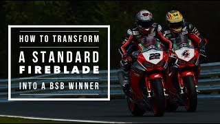 Download How to transform a standard Honda Fireblade SP into a BSB race winner | BikeSocial Video