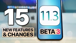 Download iOS 11.3 Beta 3! 15 New Features & Changes Video