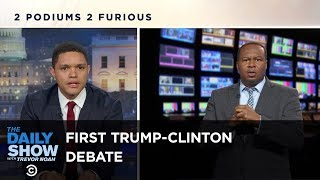 Download Sparks Fly at the First Trump-Clinton Presidential Debate: The Daily Show Video