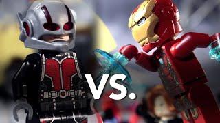 Download LEGO Civil War: Ant-Man vs. Iron Man Video
