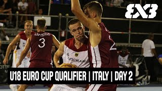 Download FIBA 3x3 U18 Europe Cup 2018 Qualifiers - Bari, Italy - Re-Live - Day Two Video