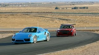 Download Mustang vs Porsche On the Track — Put Up Or Shut Up Preview Ep. 7 Video