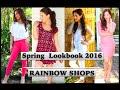 Download Spring Lookbook 2016 - RAINBOW SHOPS | Caroland Video