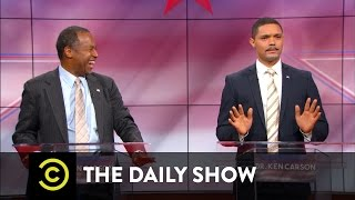 Download Dr. Ben Carson vs. Dr. Ken Carson: The Doctors Debate: The Daily Show Video