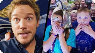 Download Chris Pratt Surprises Kids from the Set of Guardians of the Galaxy Vol. 2 // Omaze Video